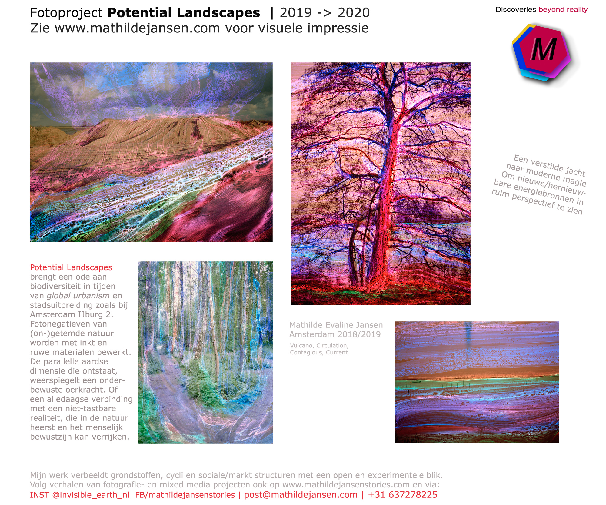 Fotoproject Potential Landscapes - impressie start van project