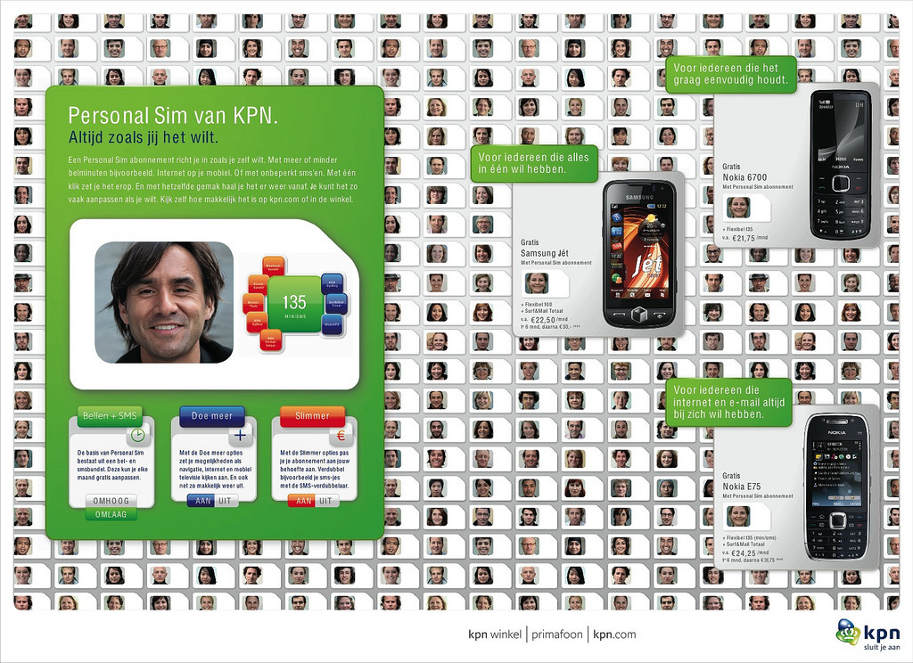 KPN Personal SIM / advertisement agency TBWA Neboko