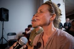 Barbara Visser bij lancering Platform BK
