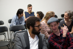 Publiek tijdens lancering Platform BK