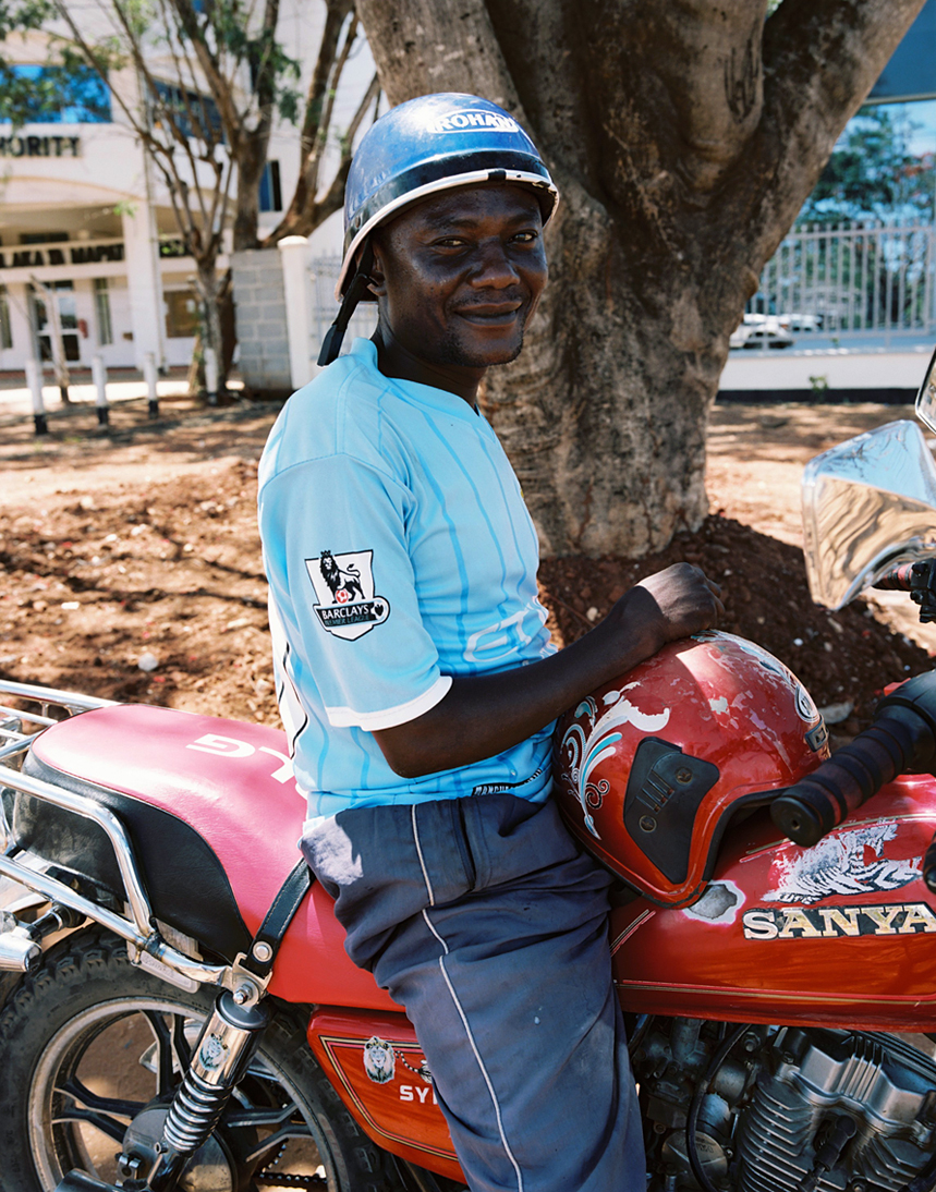 Mtwara (motor taxi driver and local metals/oil)